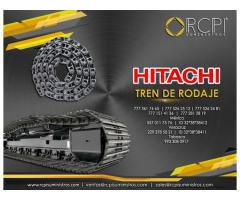 Tren de rodaje para equipos Hitachi