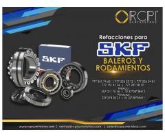 Rodamientos SKF para grúas industriales