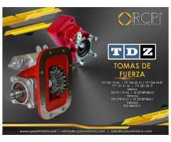 Tomas de fuerza TDZ para grúas industriales