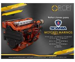 Refacciones para motores marinos Scania