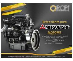 Refacciones de motores Mitsubishi para grúas industriales