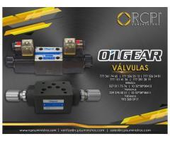 Válvulas Oilgear para grúas industriales