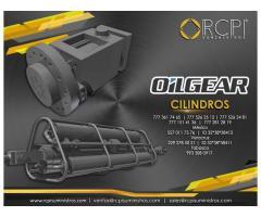 Cilindros hidráulicos Oilgear para grúas industriales