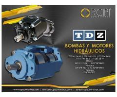 Motor hidráulico TDZ para grúas industriales