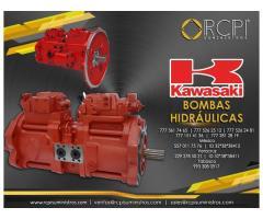 Refacciones para bombas hidráulicas Kawasaki