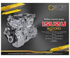 Refacciones para motores diésel Isuzu