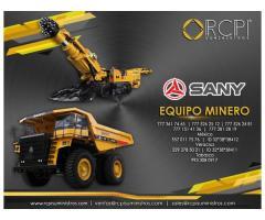 Refacciones para equipo minero Sany