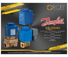 Válvulas Danfoss para grúas industriales