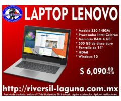 LAPTOP LENOVO 330-14IGM