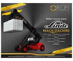 Refacciones para reach stacker Linde