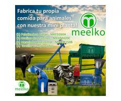 Mini Planta Meelko, comida para toros