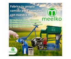 Mini Planta Meelko, comida para cerdos