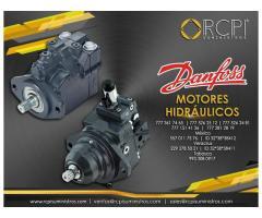 Motores hidráulicos Danfoss para grúas