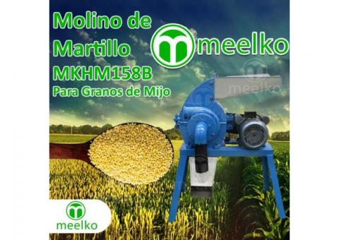 MKHM158B Molino de martillo - granos de mijo
