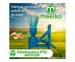 Peletizadora MKFD150P cascara de maní