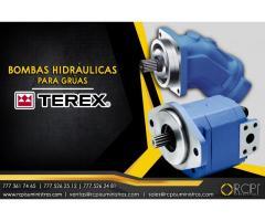 Bombas hidráulicas para grúas Terex