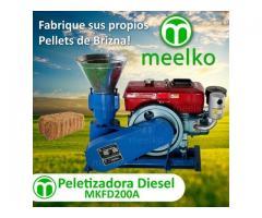 Peletizadora MKFD200A de brizna