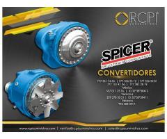 Convertidores Spicer para grúas industriales