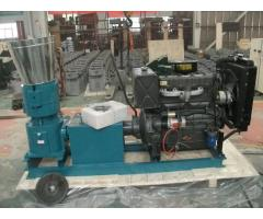Peletizadora 360 mm 55 hp DIESEL para concentrados balanceados 750-950 kg/h - MKFD360A