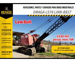 Venta de Draga link belt  LS78