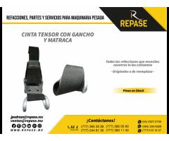 CINTA TENSOR CON GANCHO Y MATRACA
