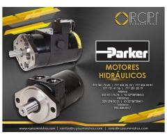 Motores hidráulicos Parker para grúas industriales