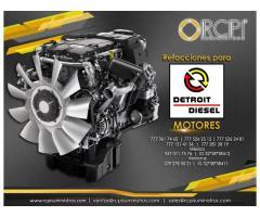 Partes para motores Detroit Diesel
