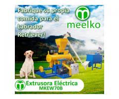Alimentación para perros Extrusora para pellets 220-280kg/h 18.5kW - MKEW070B
