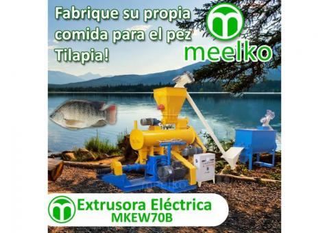Para peces 220-280kg/h 18.5kW - MKEW070B Extrusora para pellets flotantes