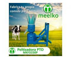 PTO Peletizadora 230mm 22hp para concentrados balanceados 300-400kg/h - MKFD230P