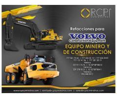 Refacciones para equipos mineros Volvo