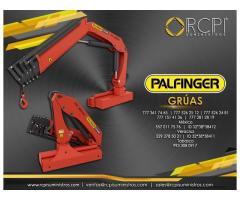 Partes para grúas industriales Palfinger