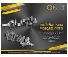 Cigueñal para motores de grúas industriales