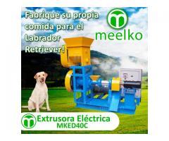 6 KW - MKED040C Extrusora para pellets alimentación perros 30-40kg/h
