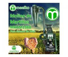 Gasolina 360 kg - MKH198A-C Molino triturador de biomasa a martillo