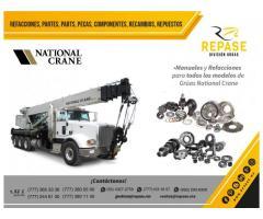 Manuales de partes y refacciones para National Crane