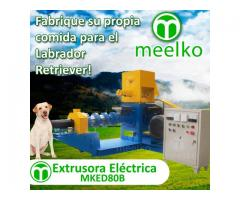 MKED080B Extrusora para pellets alimentación perros 200-250kg/h 22kW