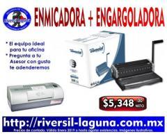 ENGARGOLADORA Y ENMICADORA