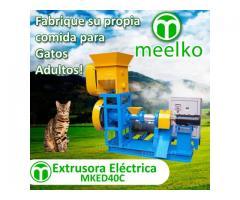 (Gatos) 30-40kg/h 5.5kW - MKED040C Extrusora para pellets alimentación gatos - MKED040C