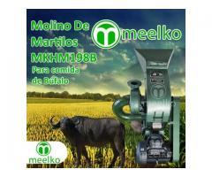 (Búfalo) a martillo Molino triturador de biomasa eléctrico 360 kg - MKH198B