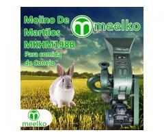 (Conejo) a martillo Molino triturador de biomasa eléctrico 360 kg - MKH198B