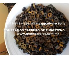 COMPRO PEDACERIA DE CARBURO DE TUNGSTENO EN LEON
