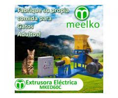 MKED060C Extrusora para pellets alimentacion gatos 120-150kg/h 15kW
