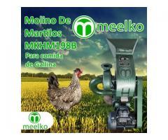 (Gallina) a martillo Molino triturador de biomasa eléctrico 360 kg - MKH198B