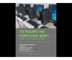 REPARACIÓN DE COMPUTADORA PC O LAPTOP