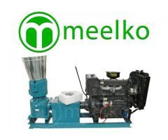 Alfalfas y pasturas 600-820kg/h Peletizadora 360mm 55 hp Diesel 600-820kg/h - MKFD360A