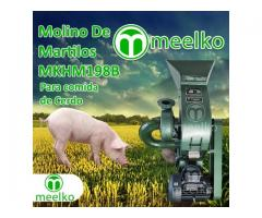 (Cerdo) a martillo Molino triturador de biomasa eléctrico 360 kg - MKH198B