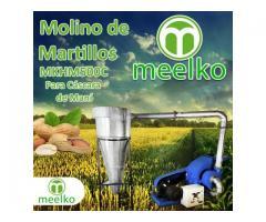(Cáscara de maní) Molino triturador de biomasa a martillo electrico hasta 1500 kg hora - MKH500C-C