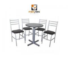 mesas sillas muebles para cafeterias restaurantes y bares