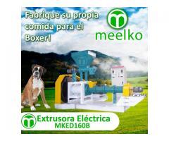 1000-1200kg/h 90kW - MKED160B Extrusora para alimentos de perros